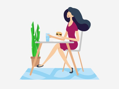 Illustrations for the website vector illustration vector illustration characterdesign fooddelivery food app