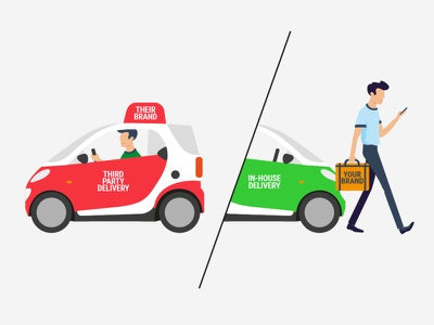 Illustrations for the website character illustration vector illustration vector delivery service delivery car characterdesign
