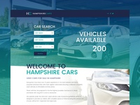 Hampshire Cars Used Car Dealer Website Concept