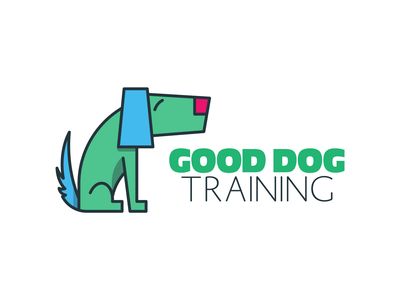 Dog Trainer doodle dog logo logodesign logo training dogs trainer dog