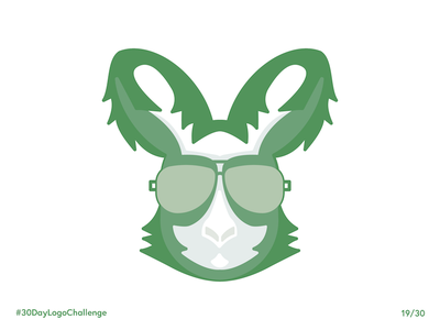 Logo Challenge I Kangaroo sunnies sunglasses australia kangaroo daily challenge logo