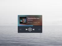 Music widget 2x