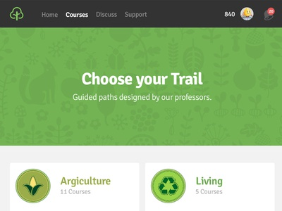 [WIP] Ecocademy ecocademy sustainability argiculture lms clean course education eco flat responsive learn
