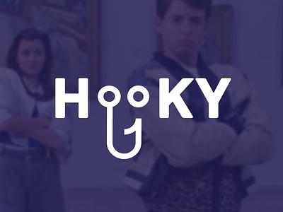 Hooky - Branding mark logo identity branding
