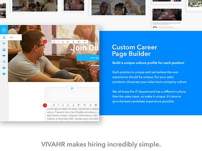 Landing Page - ATS minimal hiring sass landing page ats