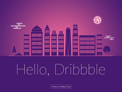 Dribbble Debut Shot meetup webkul debut shot first shot design dribbble player debut