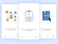 Onboarding Screens for Education App - User 1