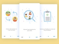 Onboarding Screens for Education App - User 2