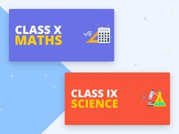 Educational Banners for Web & Mobile App