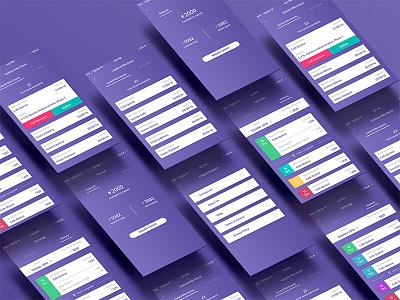 Pless Associate App Design ux user interface payment fintech app design ui mobile app