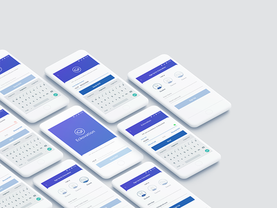 Eckovation App - Sign Up Flow mobile app design user interface sign up screen sign in ui design