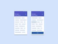 Pick Interests for Eckovation App