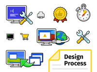 Beebit Icons + Design Process