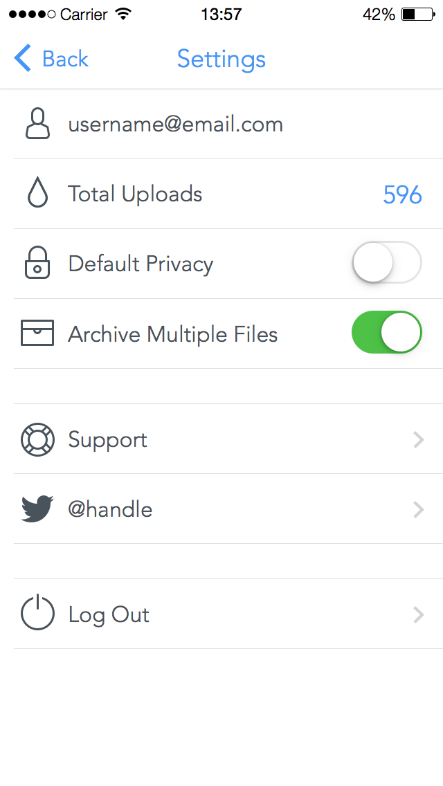 11. settings