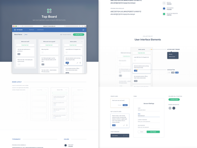 Top Board Case Study application interface cards board app user interface case study web ui toptal