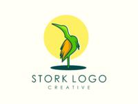 Stork heron