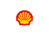 Shell - Everyday Pixel Art Logo