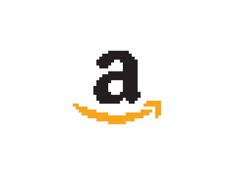 Amazon Everyday Pixel Art Logo By Shalabh Singh On Dribbble