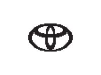 Toyota - Everyday Pixel Art Logo