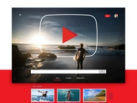 YouTube - Landing Page Redesign