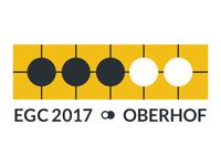 Logo for European Go Congress 2017