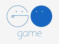 Funny Logo of go Game