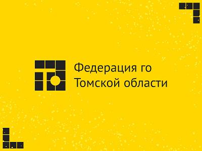Tomsk Oblast Go Federation Logo federation tomsk logo weiqi baduk go