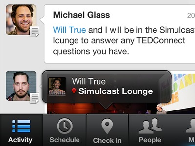 TED Conference App