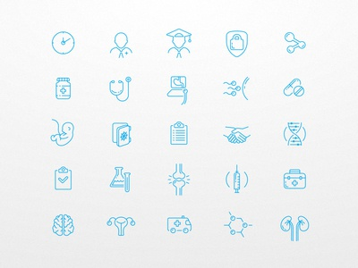 Medical Icons Pack (part 1)