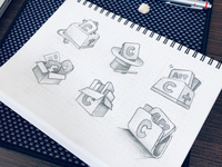 Macos icon sketches