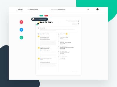 Cezan - Reinventing Your Resume