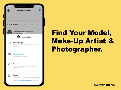 Creative Marketplace | iOS search photography illustrations options check out mobile app design ios design marketplace