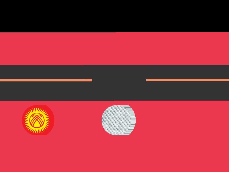 Kyrgyz LegProm Forum logo logo kyrgyzstan shift geometry design branding