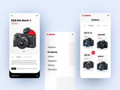 Canon App Design