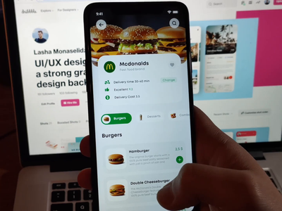 Glovo redesign concept design ux ui application mobile app animation interaction interactive video prototype fast food delivery glovo app design app