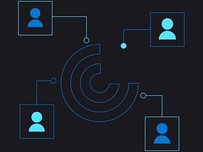 Web Loops vector website animation web icon branding ui