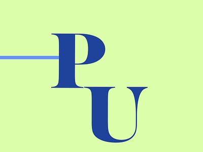 Possi University Logo Animation branding icon logo animation