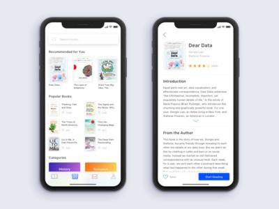Reading App Prototype
