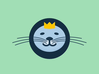 SeaLion - visual play affinity vector lion seal sea lion