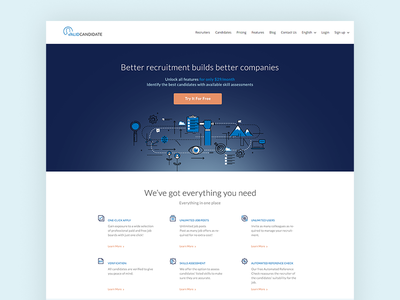 Applicant Tracking System Homepage