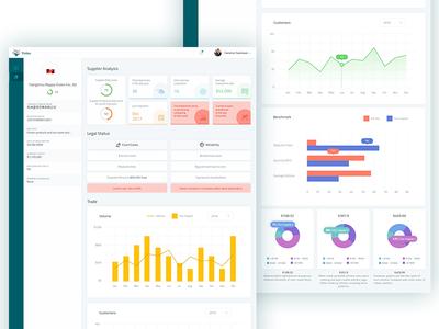 Tiidan dashboard- supplier details