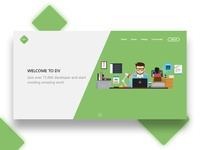 Daily UI – Day 003 – Landing Page