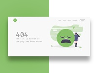 Daily UI – Day 008 – 404 Page