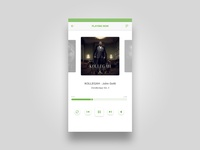 Daily UI – Day 009 – Music Player