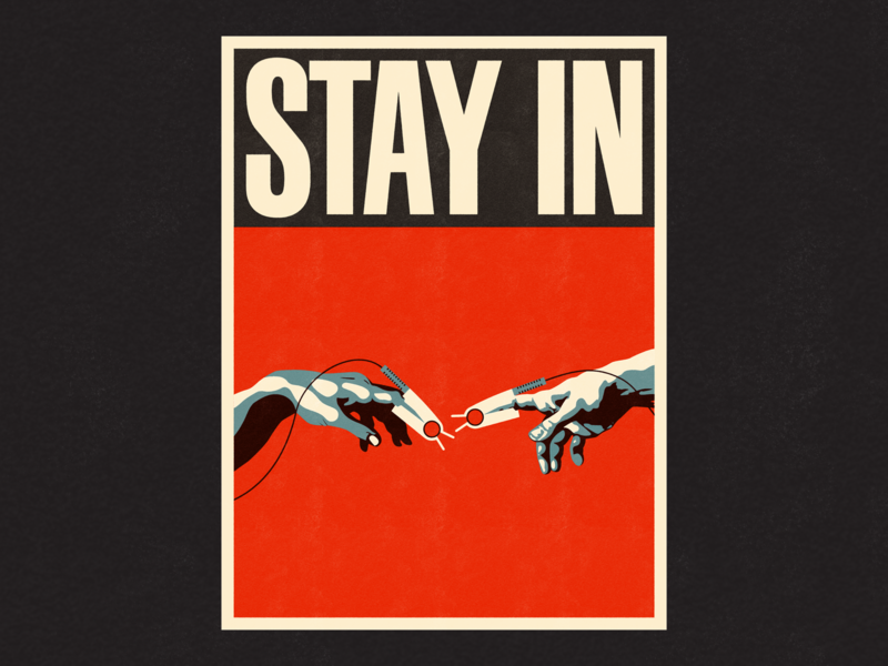 Stay In Poster
