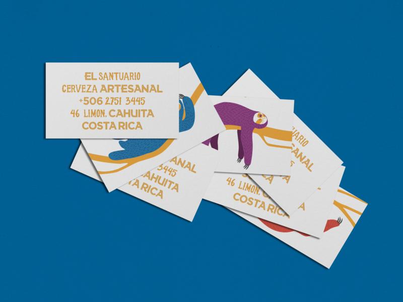 El Santuario Business Cards