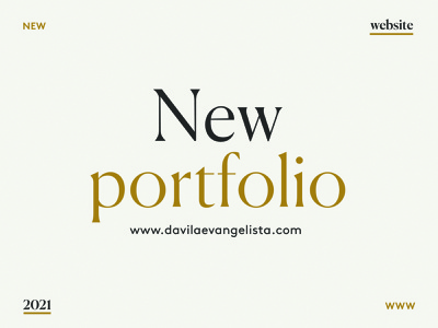 New Portfolio personal personal branding personal brand illustration graphic design design branding website portfolio