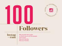 Instagram 100 Followers