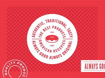 The Original Packaging III doughnuts packaging layout original traditional pattern logo doonies good tasty mockup