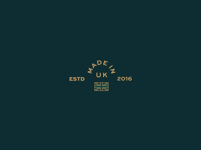 Basterfield brand development identity logo branding flag england 2016 made in uk estd classic basterfield